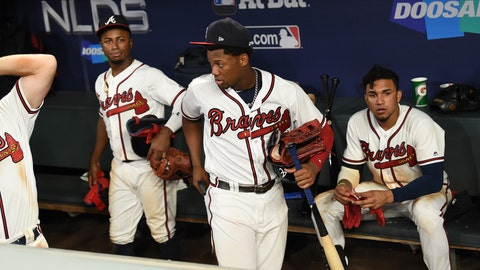 Young Braves focus on future after NLDS loss to Dodgers