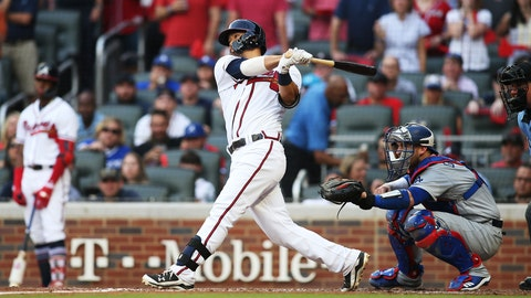 Uncharacteristic struggles against left-handers undercuts Braves offense in NLDS