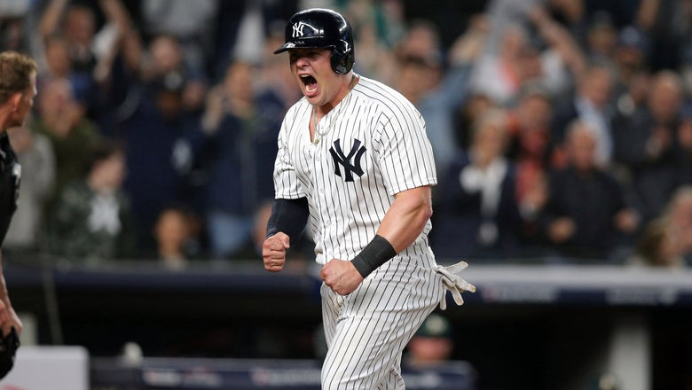 Ex-Cards 1B Voit carries his surge with Yankees into playoffs