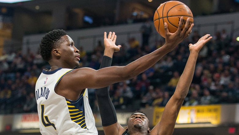 Oladipo takes charge as nine Pacers score double-digit points in victory