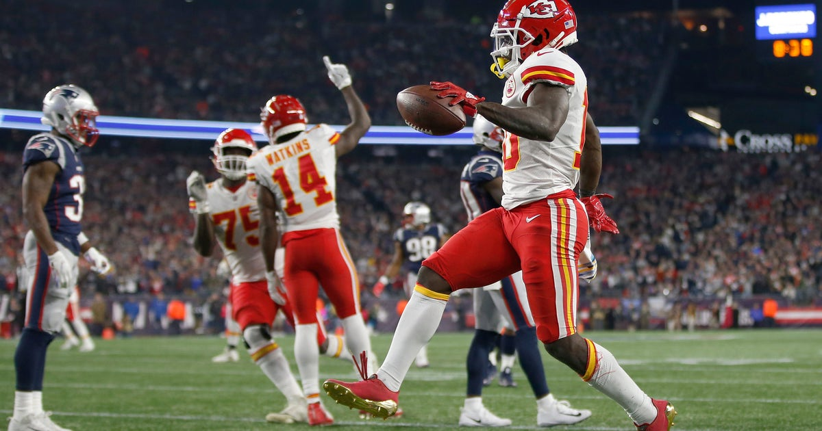 Second-half near comeback at New England gives Chiefs confidence