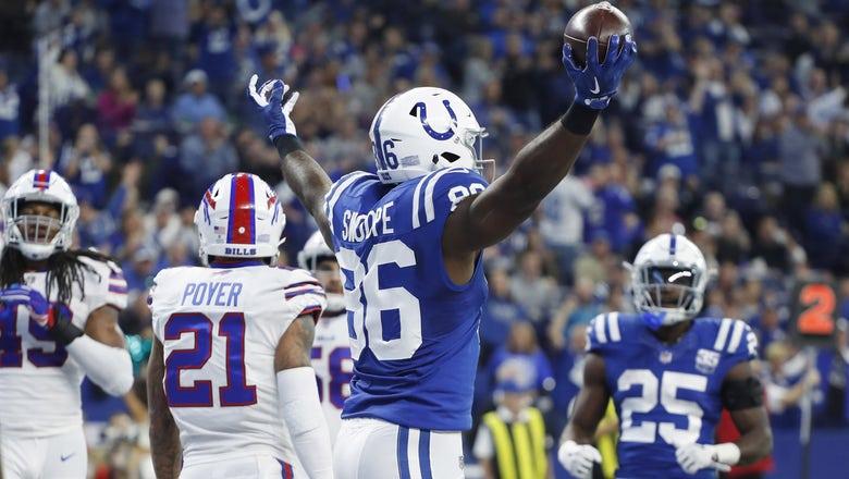 Colts, Luck clobber Bills through the air in 37-5 win