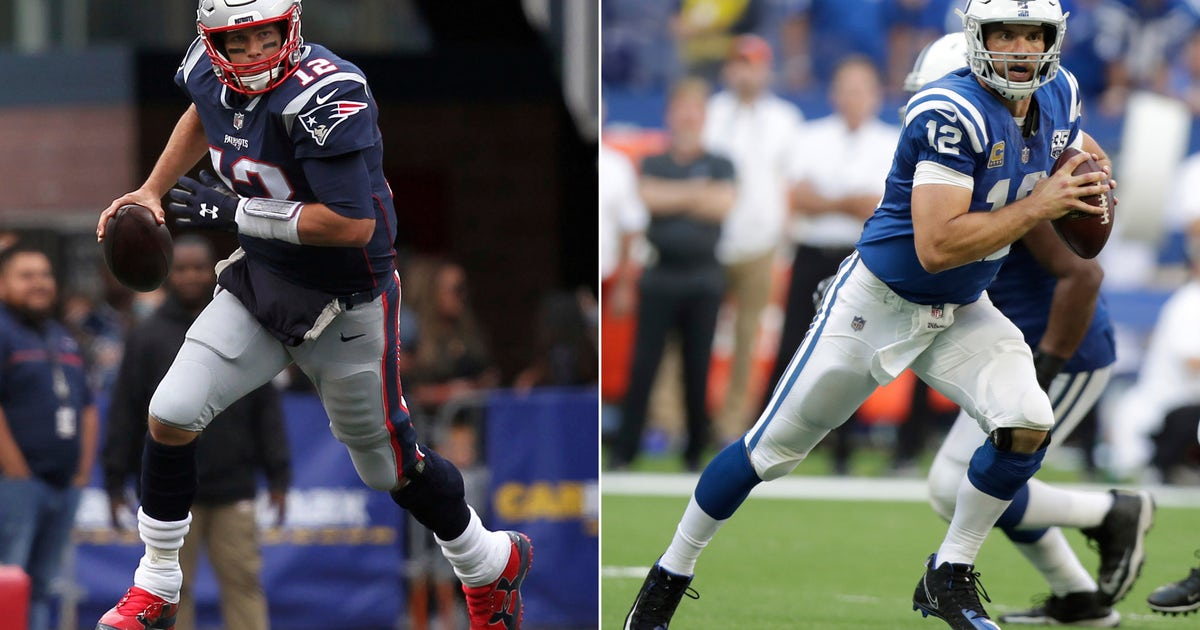 Colts, Luck hope to break recent skid against Patriots, Brady