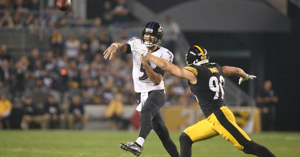 Flacco, Ravens resurgent in win over Steelers