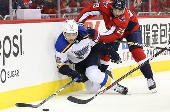 Blues recall Sanford from San Antonio, assign Thorburn to AHL affiliate