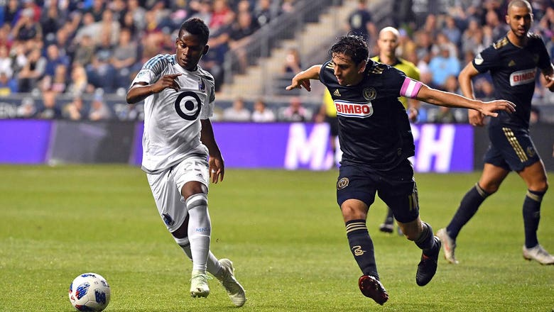 Minnesota United falls 5-1 to Philadelphia Union