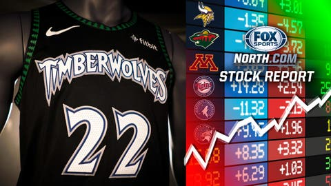 The Timberwolves (↑ UP)