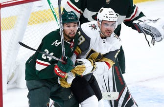 Vegas forces OT with late goal, tops Wild in shootout