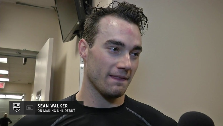 Sean Walker proud of himself ahead of NHL debut with LA Kings