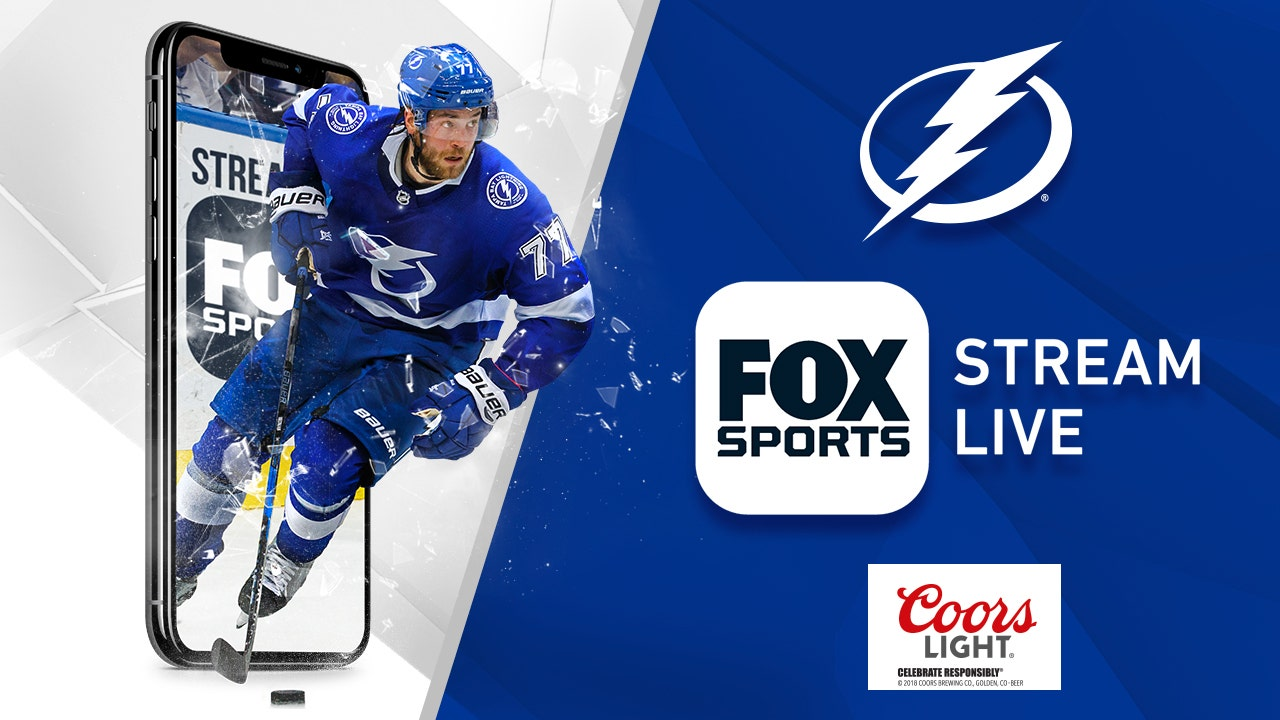 picture relating to Tampa Bay Lightning Printable Schedule named FOX Sporting activities Solar announces 2019 Tampa Bay Lightning playoffs