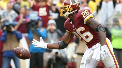 SIT: Adrian Peterson, RB, Redskins: