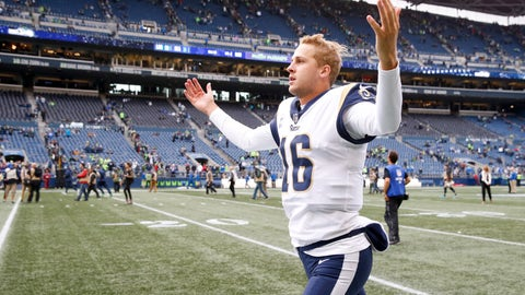 SIT: Jared Goff, QB, Rams: