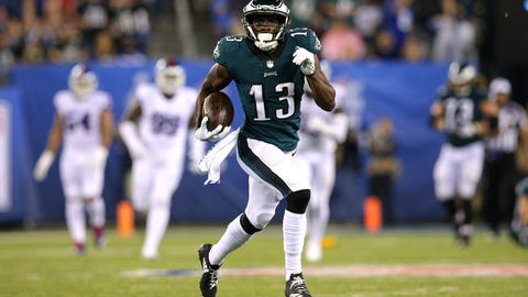 SIT: Nelson Agholor, WR, Eagles