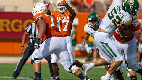NCAA Football: Baylor at Texas