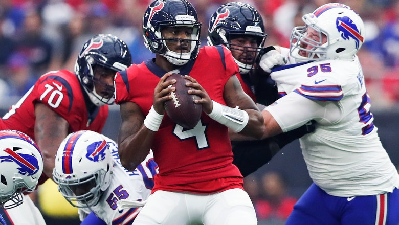 Texans look to improve offense, protect Watson better