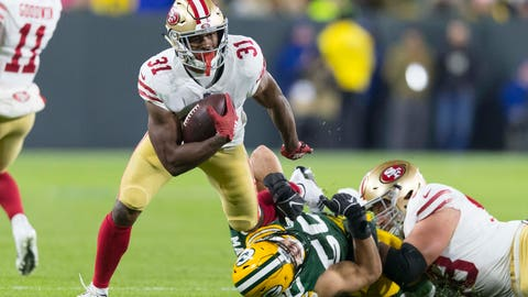 START: Raheem Mostert, RB, 49ers