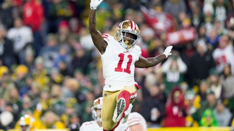 START: Marquise Goodwin, WR, 49ers: