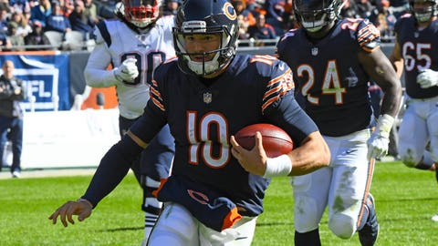 START: Mitchell Trubisky, QB, Bears