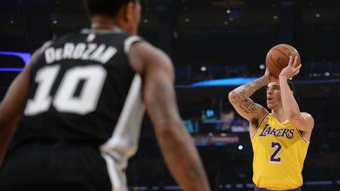 NBA: San Antonio Spurs at Los Angeles Lakers