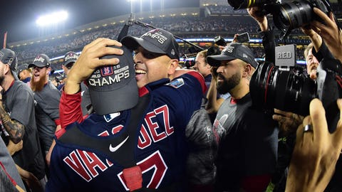 MLB: World Series-Boston Red Sox at Los Angeles Dodgers