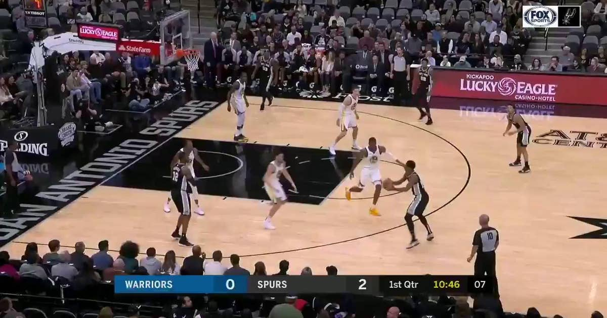 HIGHLIGHTS: Spurs complete the Texas Sweep of Warriors