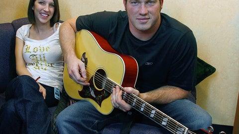 <p>               In this April 25, 2009 file photo Seattle Seahawks Craig Terrill and his wife Rachel pose for a photo before Terrill performs with his band at Canoes Cabaret at the Tulalip Resort Casino In Tulalip, Wash. More than 150 former NFL players and their spouses or partners attended the fourth annual Bridge to Success Oct. from 26-29 in Orlando. Bridge to Success features panel discussions, breakout sessions, networking and personalized mentorships to help create individual game plans for each couple. The Terrills signed up to attend the first Bridge to Success in 2016. Then Terrill was asked to speak as a professor with a Ph.D in communication from South Florida. She now has presented sessions for wives and significant others at the past two Bridge programs, and they have their own Facebook page now to stay in touch.(Elizabeth Armstrong/The Herald via AP, File)             </p>