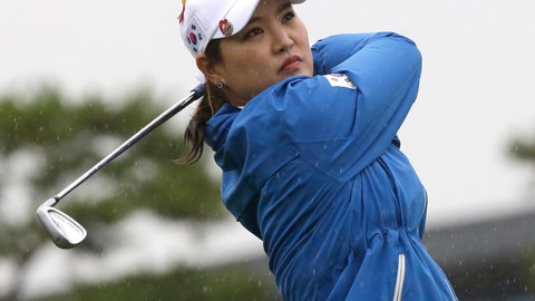 <p>               FILE - In this Oct. 5, 2018, file photo, So Yeon Ryu of South Korea watches her shot on the 5th hole during the second round of the LPGA's UL International Crown golf tournament at the Jack Nicklaus Golf Club Korea in Incheon, South Korea. Ryu shot a 7-under 65 to take a one-shot lead on Friday, Nov. 2, 2018, after the first round of the Toto Japan Classic at the Seta Golf Club in Shiga, western Japan. (AP Photo/Ahn Young-joon, File)             </p>