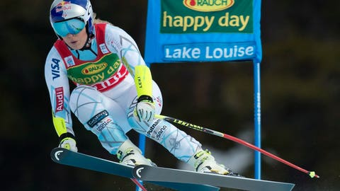 "<p>               FILE - In this Dec. 6, 2015, file photo, Lindsey Vonn, of the United States, skis her way to victory during the women's World Cup super-G skiing event in Lake Louise, Alberta. Vonn is planning to come back for one more series of speed races at Lake Louise, Alberta, next season. On her new YouTube channel Friday, Nov. 30, 2018, Vonn said she would regret it for the ""rest of my life"" if she didn't push out of the starting gate one final time at Lake Louise. (Frank Gunn/The Canadian Press via AP, File)             </p>"