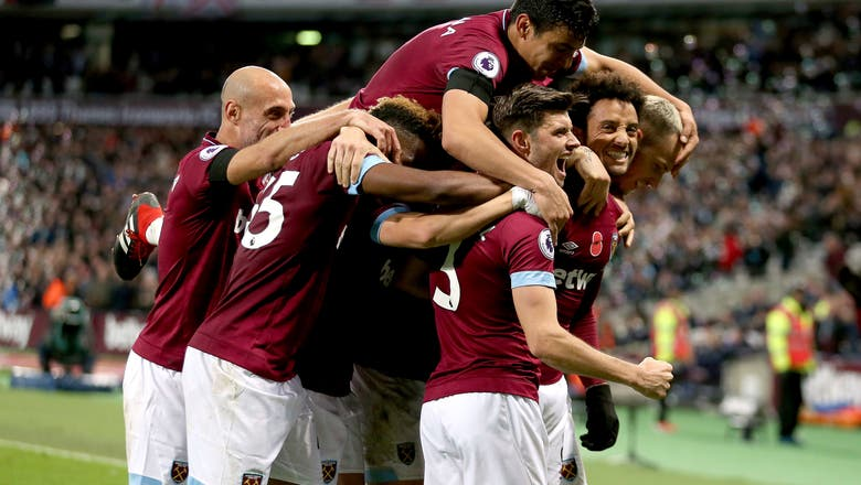 Anderson scores 2 as West Ham beats Burnley 4-2
