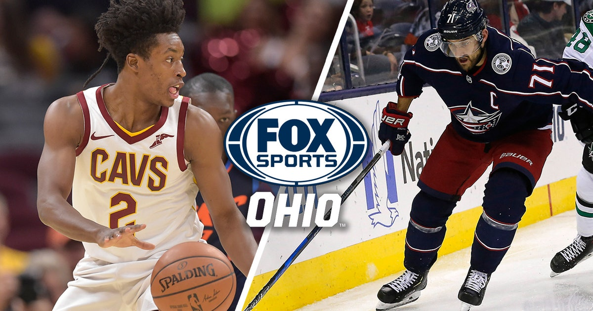 Channel info for Cleveland Cavaliers and Columbus Blue Jackets