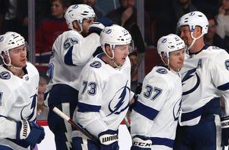 Steven Stamkos' 2 goal night lifts Lightning past Canadiens 4-1