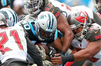 Buccaneers unable to recover from Panthers' 35-point first half, fall 42-28 to Carolina