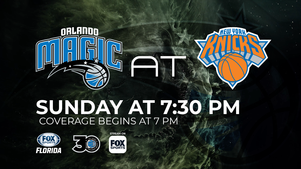 photo about Knicks Printable Schedule named Fresh new York Knicks at Orlando Magic sport preview