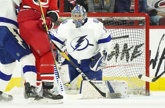Lightning recall goalie Eddie Pasquale from AHL Syracuse