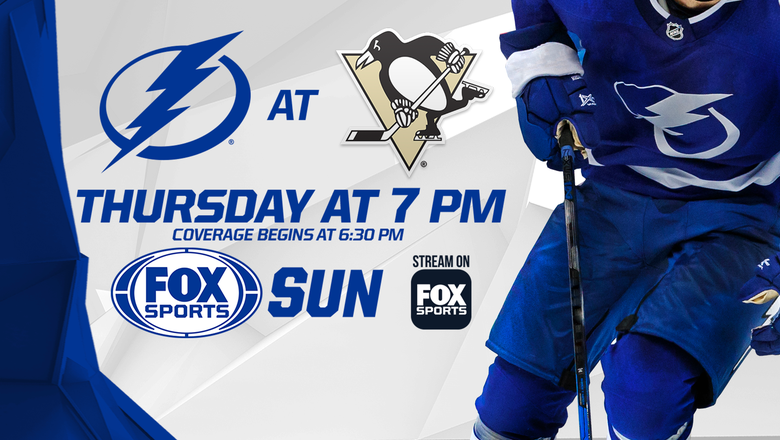 Preview: Lightning trying to wash bad taste out of their mouths against slumping Penguins
