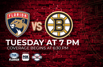 Preview: Rested Panthers gear up for season's 1st matchup vs. Bruins