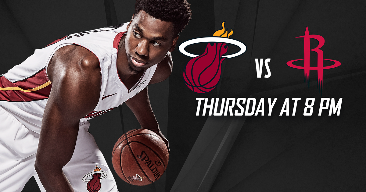 531baf44424 Houston Rockets at Miami Heat game preview