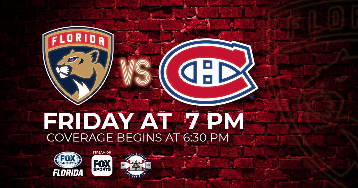 2c9baea8906 Montreal Canadiens at Florida Panthers game preview