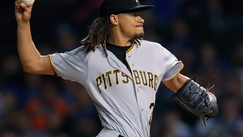 <p>               FILE - In this Sept. 25, 2018, file photo, Pittsburgh Pirates' Chris Archer pitches against the Chicago Cubs during the first inning of a baseball game in Chicago. Archer has undergone surgery to repair a hernia but should be ready in time for spring training. The team says Archer had surgery Tuesday, Nov. 26, after complaining of symptoms during a recent workout. Archer is expected to take six weeks off to recuperate before resuming his offseason program. (AP Photo/Jim Young, File)             </p>