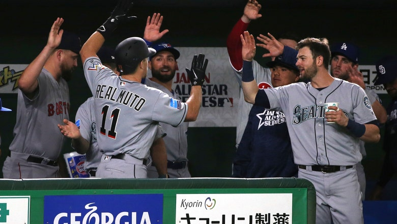 MLB All-Stars beat Japan's Giants ahead of exhibition tour