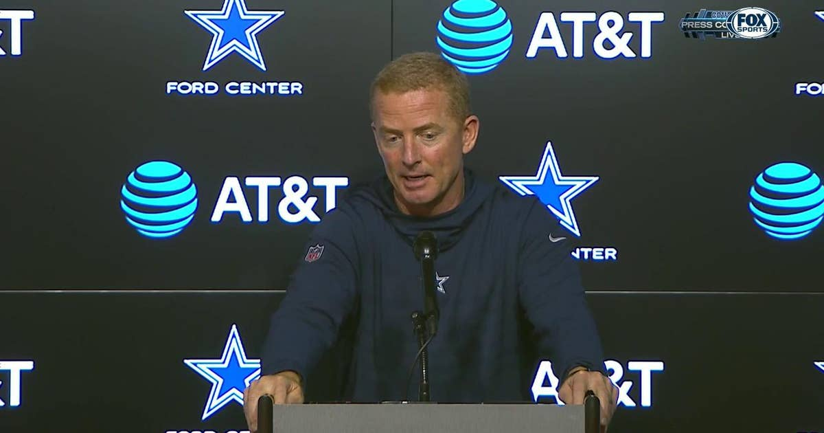Jason Garrett on huge drive to end the 1st half | Cowboys Press Conference
