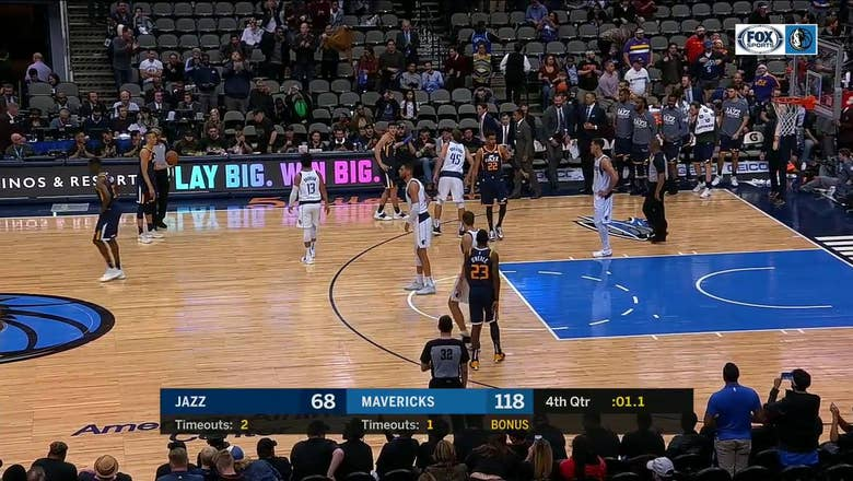 Mavs tie for 2nd Largest Margin of Victory, defeat Jazz