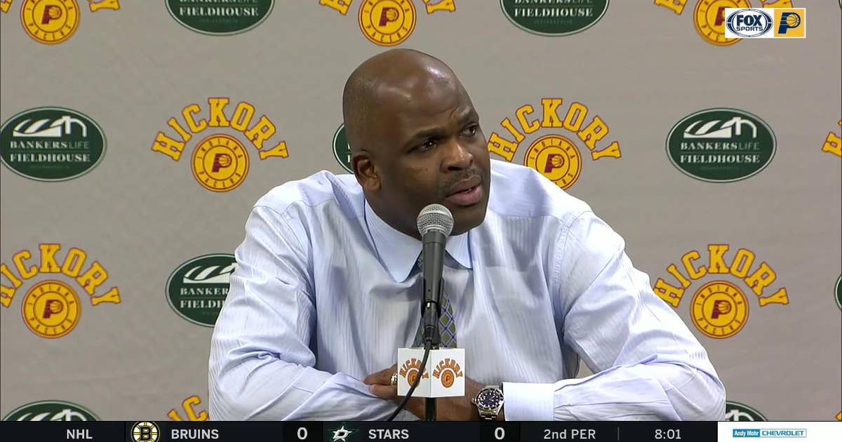 McMillan on Pacers' bench: 'They got us back into the game'
