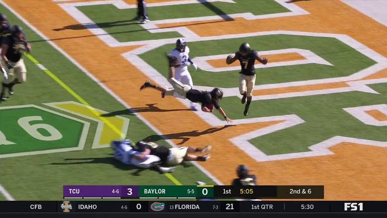HIGHLIGHTS: Baylor QB Charlie Brewer SKIES For Bears Touchdown