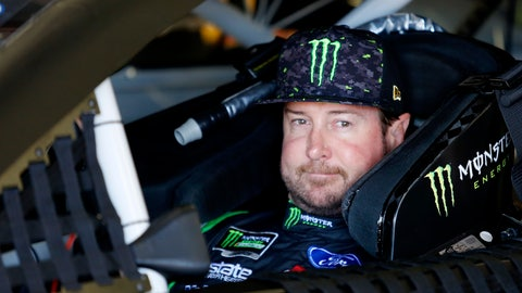 <p>               FILE - In this July 20, 2018, file photo, Kurt Busch waits in his car before NASCAR Cup Series auto racing practice at New Hampshire Motor Speedway in Loudon, N.H. NASCAR's driver carousel will spin long after the season finale. Former Cup champions Busch and Matt Kenseth, and Daniel Suarez, AJ Allmendinger, Regan Smith and Jamie McMurray are among the drivers certain to start next season with new teams or new roles. (AP Photo/Mary Schwalm, File)             </p>