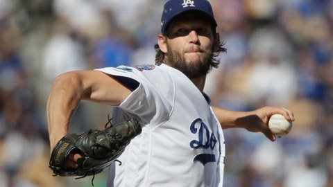 <p>               FILE - In this Oct. 17, 2018, file photo, Los Angeles Dodgers starting pitcher Clayton Kershaw throws during the first inning of Game 5 of the baseball NL Championship Series game against the Milwaukee Brewers in Los Angeles. After pushing his decision back 48 hours, the Dodgers ace, on Friday, Nov. 2, 2018, has to either opt out of the final two years and $65 million on his contract or play out the string. (AP Photo/Jae Hong, File)             </p>