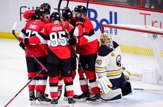 Craig Anderson males 46 saves, Senators beat Sabres 4-2