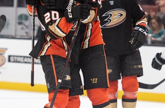 Ducks C Ryan Getzlaf out with upper-body injury