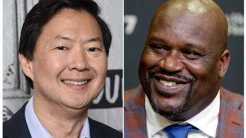 "<p>               This combination photo shows actor Ken Jeong at the BUILD Speaker Series to discuss the film ""Crazy Rich Asians"" in New York on Aug. 14, 2018, left, and retired Hall of Fame basketball player Shaquille O'Neal during an NBA basketball news conference in Miami on Dec. 22, 2016. TBS said it has ordered a reality series pilot that will test the pair's ability to take on odd jobs. The pilot, with the working title ""Unqualified,"" could be the basis for a series if it impresses the channel. (AP Photo)             </p>"
