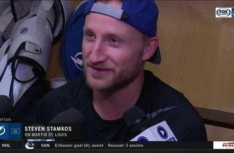 Steven Stamkos on Lightning legend Martin St. Louis' induction to Hall of Fame
